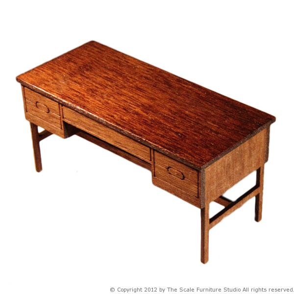 1 25 1 24 Scale Model Desk From The Scale Furniture